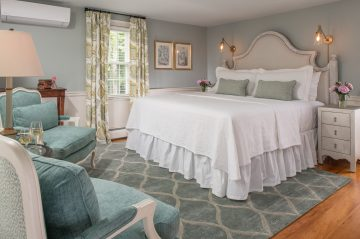 The Blue Point Room at The Inn at Yarmouth Port
