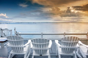 Discover where the best places to lounge on Cape Cod. You may even find a place with Adirondack chairs!