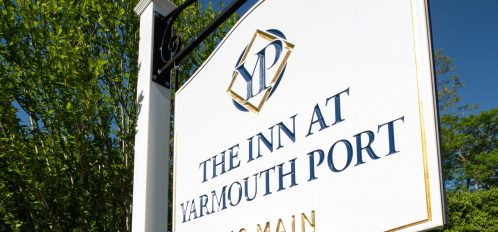 Inn at Yarmouth Port - Exterior - Day - Sign - June 2018