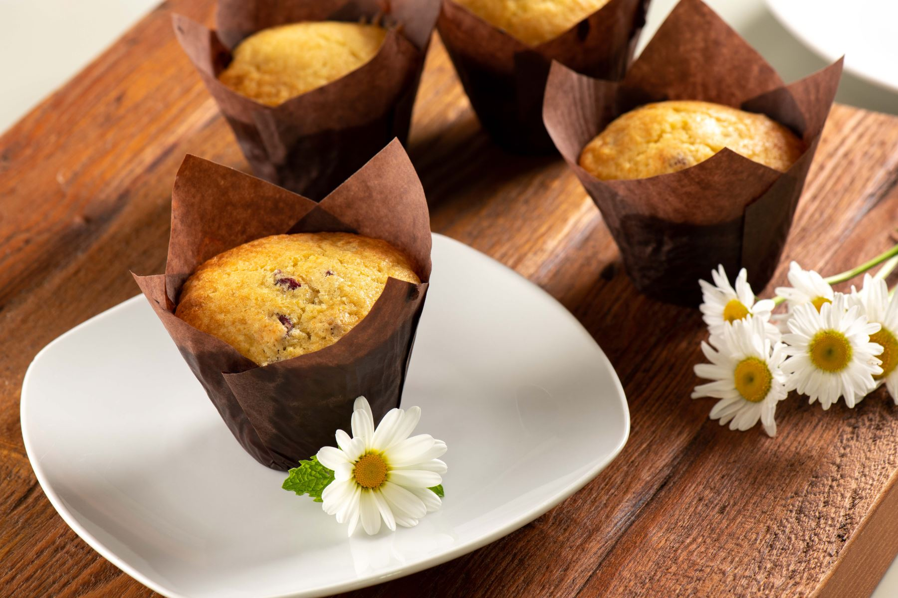 muffins served for breakfast